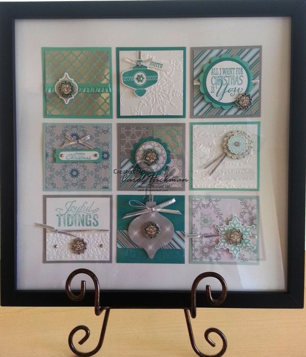 STAMPIN' UP! CHICKSTAMPER--CHRISTMAS 'WINTER FROST' HOME